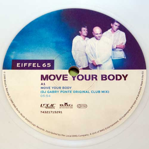 Eiffel 65 - Move Your Body (12'' vinyl)