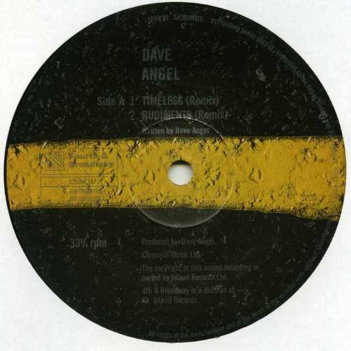 Dave Angel - Timeless (promo) (12'' vinyl)