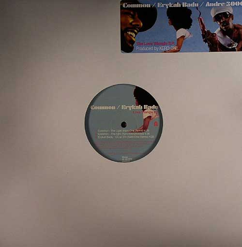 Common/Erykah Badu/Andre 3000 - The Love Triangle EP (12'' vinyl)