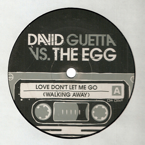 David Guetta vs. The Egg - Love Don't Let Me Go (Walking Away) (12'' vinyl)