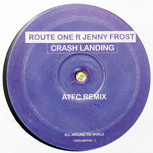 Route One Ft Jenny Frost - Crash Landing (12'' vinyl)