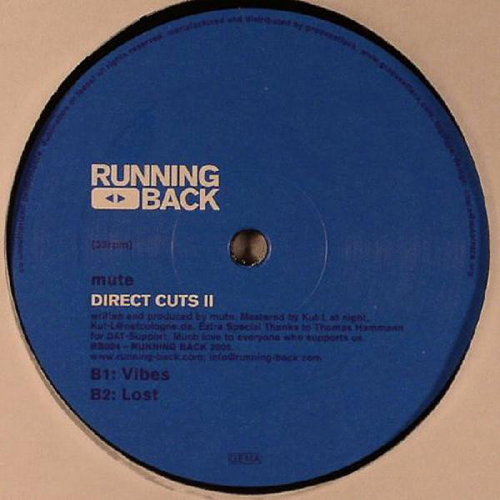 Mute - Direct Cuts II (12'' vinyl)