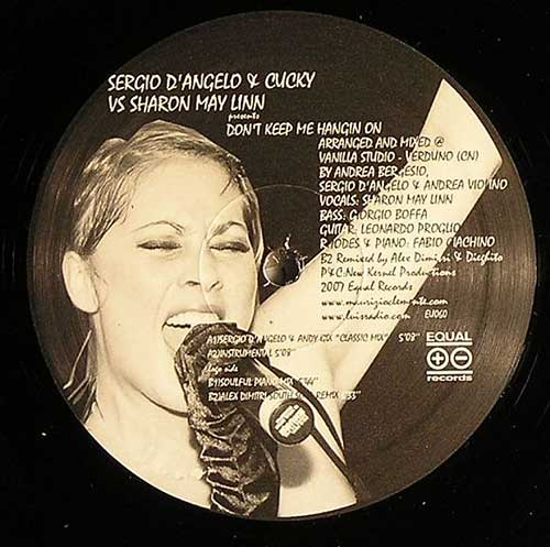 Sergio D'Angelo & Cucky vs. Sharon May Linn - Don't Keep Me Hangin' On (12'' vinyl)