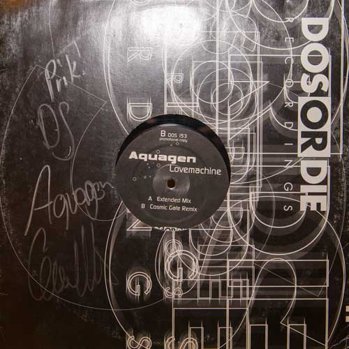 Aquagen - Lovemachine (12'' vinyl)